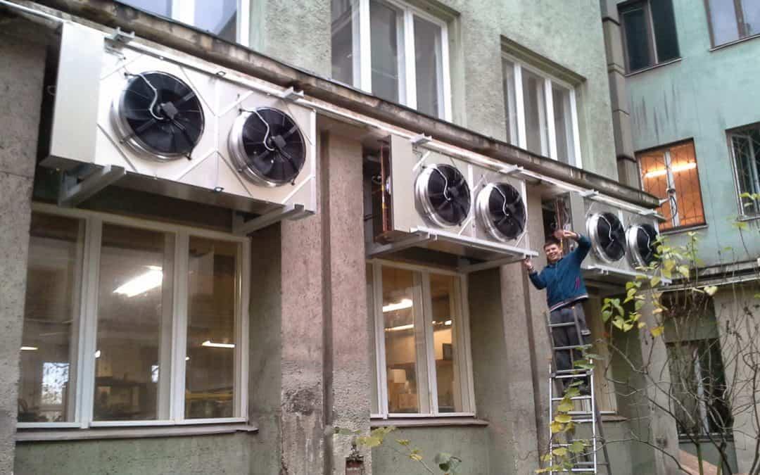 Zdjęcia z montażu  ( Klimatyzacja Precyzyjna )