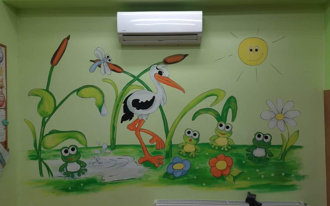 Zdjęcia z montażu Przedszkole Żórawina