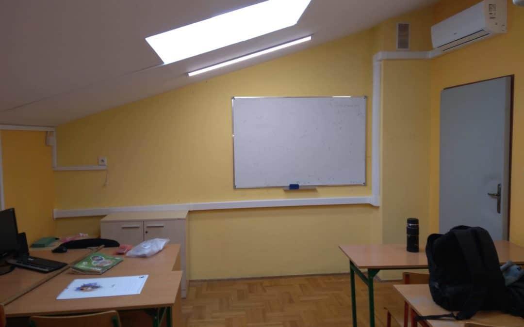 Zdjęcia z montażu Szkoła Kiełczów